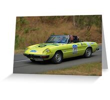 Alfa Romeo Spider - 1975 Greeting Card