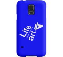 Art v Life - Blue Samsung Galaxy Case/Skin