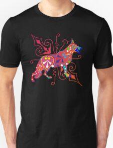 Psy German Shepherd dog Unisex T-Shirt