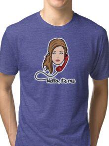 Adele - Hello Tri-blend T-Shirt