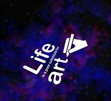Art v Life - Galaxy by Ron Marton