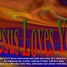 Jesus Valentine Card To You by ArtChances
