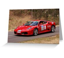 Ferrari F430 - 2007 Greeting Card