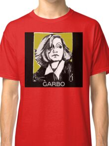 Greta Garbo 1920s Portrait  Classic T-Shirt