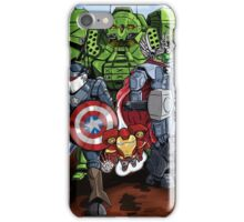 1st Marvellian Mechavengers, assemble! iPhone Case/Skin