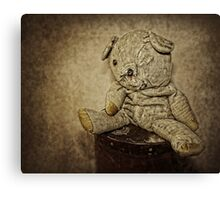 Big Ted - The Keeper of Secrets Canvas Print