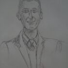Looking sharp old man- Sketch by Steph Etheridge