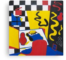 Stuart Davis Inspiration Canvas Print