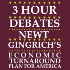 Newt Gingrich - 3 Hour Debates by BNAC - The Artists Collective.