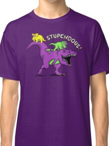 Stupendous! | Funny 90s Pop Culture Barney and Friends Dinosaur Classic T-Shirt