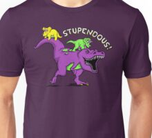 Stupendous! | Funny 90s Pop Culture Barney and Friends Dinosaur Unisex T-Shirt