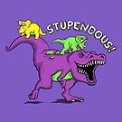 Stupendous! | Funny 90s Pop Culture Barney and Friends Dinosaur by BootsBoots