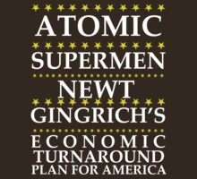 Newt Gingrich - Atomic Supermen by BNAC - The Artists Collective.