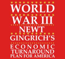 Newt Ginrich - World War III by BNAC - The Artists Collective.