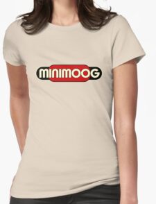 Vintage Minimoog Synth Womens Fitted T-Shirt