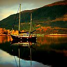 """""""AUTUMN ON LOCH LEVEN"""" by snapitnc"""