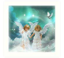 Where Angels Tread Art Print