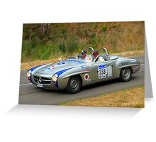 Mercedes Benz 190SL - 1958 Greeting Card