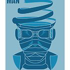 Poster fan Art - THE INVISIBLE MAN by LUX  inif