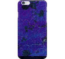 USGS Topo Map Washington State WA Pe Ell 243107 1953 62500 Inverted iPhone Case/Skin