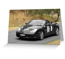 Porsche Boxter - 2003 Greeting Card