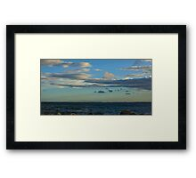 Late Evening at the Bay Framed Print