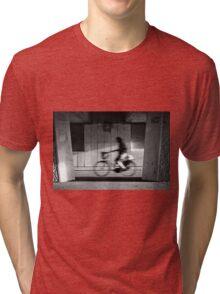 Passing-by cyclist Tri-blend T-Shirt