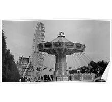 Jardin des Tuileries II Poster
