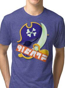 Splatfest Team Pirates v.4 Tri-blend T-Shirt