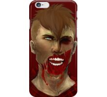 Hipster Zombie iPhone Case/Skin