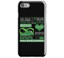 The Perks of Quotes iPhone Case/Skin