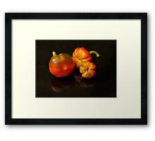 The trio Framed Print