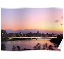 Brisbane Captain Cook Bridge Poster