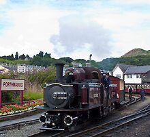 Porthmadog and the Ffestiniog Railway by John Kiely