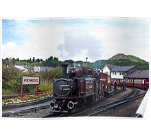 Porthmadog and the Ffestiniog Railway Poster