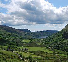 Wales The Nant Gwynant Pass -  Llyn Guynant       by 29Breizh33