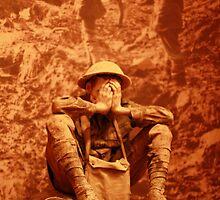 A Sitting Soldier by MissFrosty