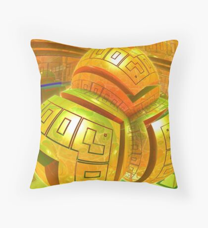 Mirrored Room Throw Pillow