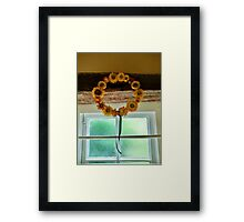 Sunflower Crown - Anne of Cleaves House Framed Print