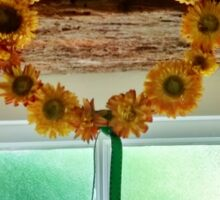 Sunflower Crown - Anne of Cleaves House Sticker