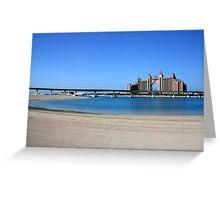 Atlantis, Dubai Greeting Card
