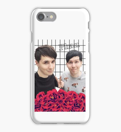 Phan and flowers iPhone Case/Skin