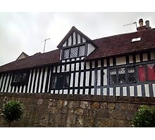 Tudor House - Anne of Cleaves House Photographic Print