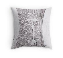 San-Doodle 011 Throw Pillow