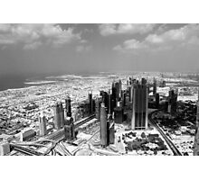 Dubai view from above  Photographic Print