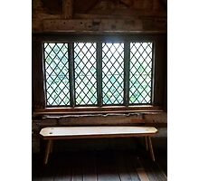 Stained Glass Window - Anne of Cleaves House Photographic Print