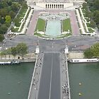 Paris, View from the Eiffel Tower by Mitchthe