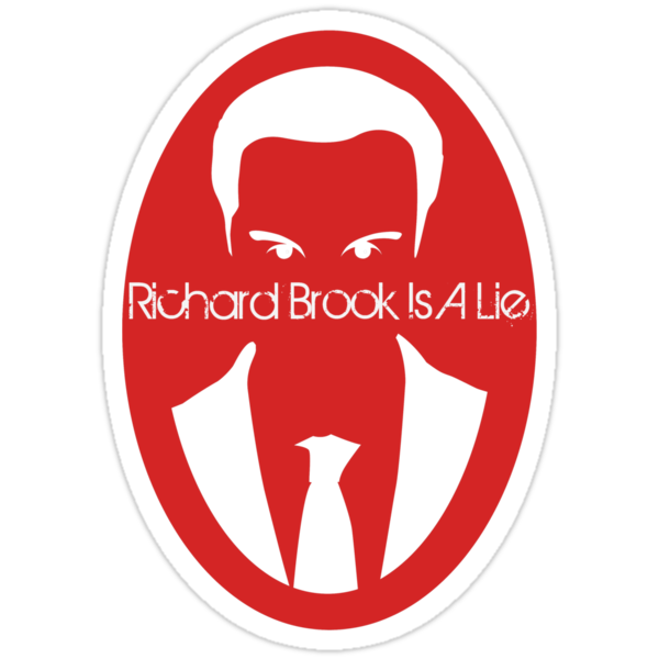 Richard Brook Is a Lie by claudiasana