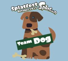 Splatfest Team Dog v.5 Kids Tee