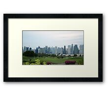 Golf in Dubai  Framed Print